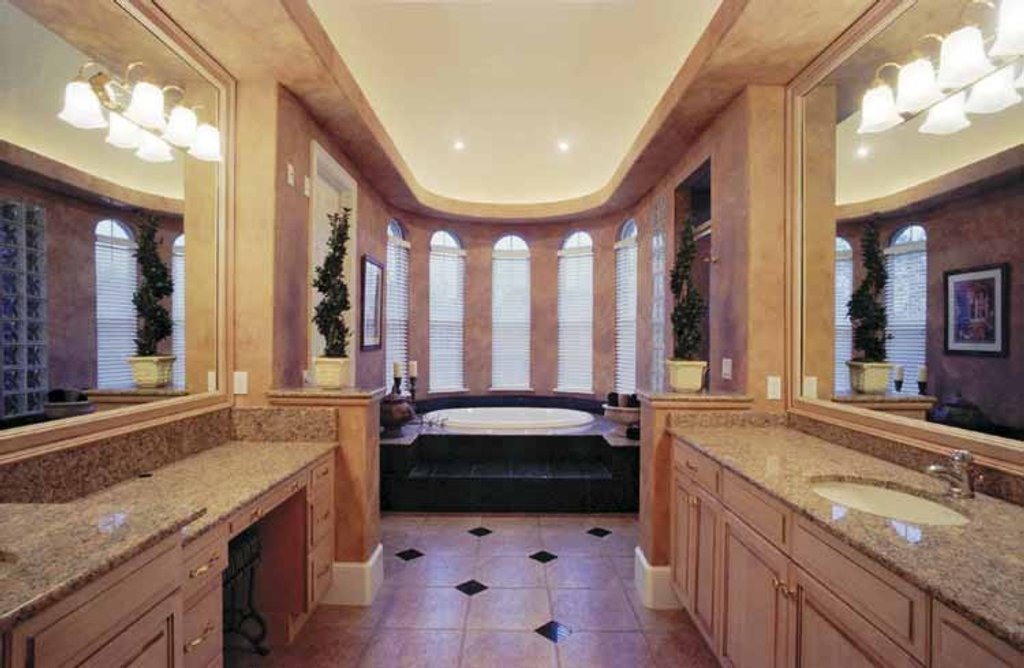 ideas to decorate a bathroom mediterranean style house plan 6 beds 6 baths 5183 sq ft 24353