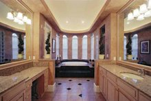 Mediterranean Interior - Bathroom Plan #1039-3