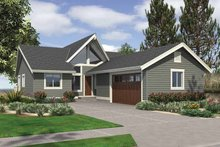 Dream House Plan - Contemporary Exterior - Front Elevation Plan #132-541
