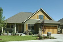 Architectural House Design - Craftsman Photo Plan #48-163