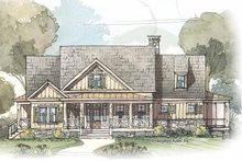 House Plan Design - Country Exterior - Front Elevation Plan #429-424