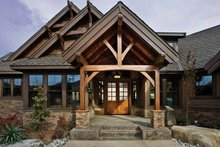 Architectural House Design - Craftsman Exterior - Front Elevation Plan #132-561