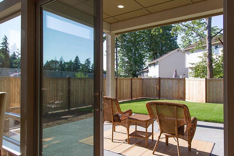 Contemporary Exterior - Other Elevation Plan #132-564 - Houseplans.com