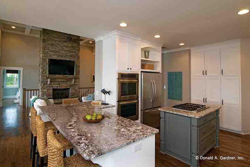 European Interior - Kitchen Plan #929-906 - Houseplans.com