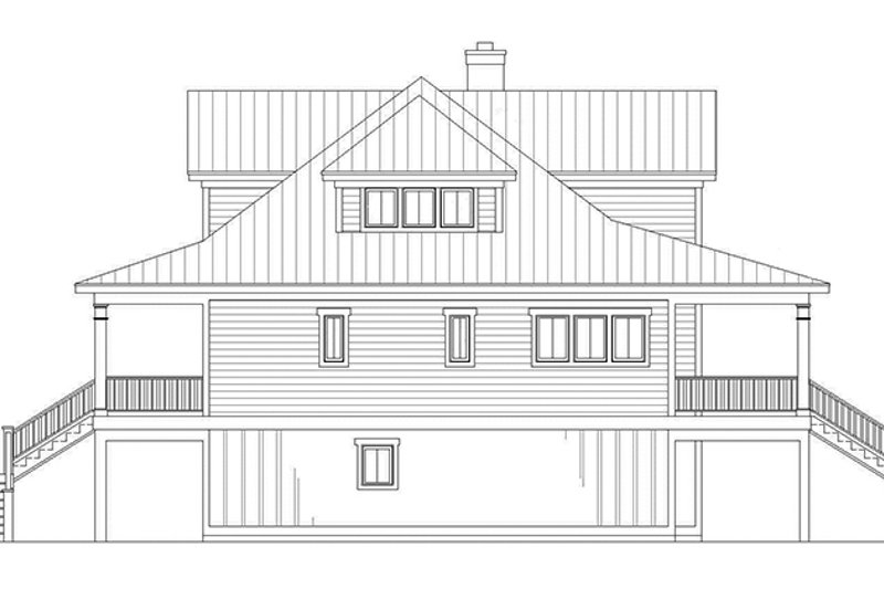 Country Exterior - Other Elevation Plan #991-31 - Houseplans.com