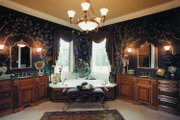 European Style House Plan - 4 Beds 4.5 Baths 4012 Sq/Ft Plan #437-66 Interior - Master Bathroom
