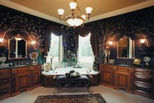 European Interior - Master Bathroom Plan #437-66