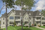European Style House Plan - 3 Beds 2 Baths 10456 Sq/Ft Plan #138-266 Exterior - Front Elevation
