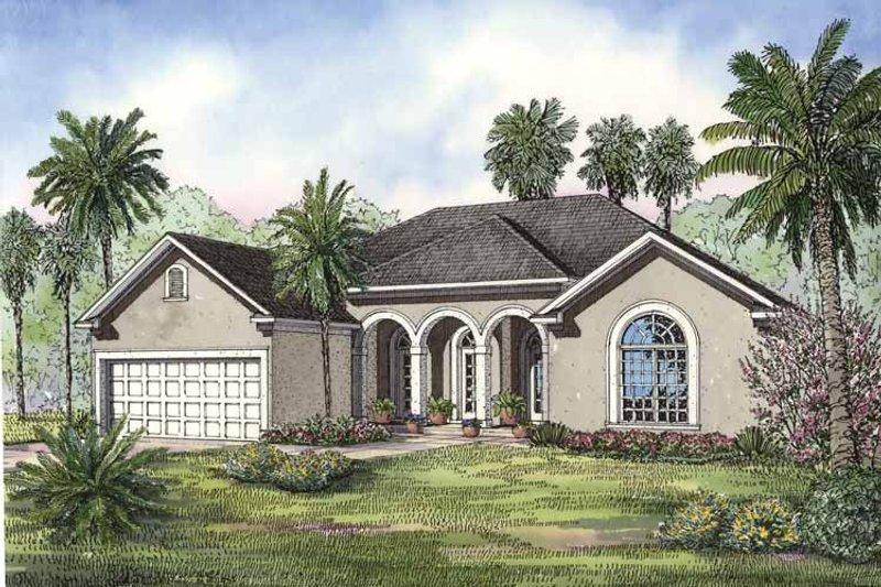 House Plan Design - European Exterior - Front Elevation Plan #17-3237