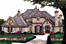 House Plan Design - Country Exterior - Front Elevation Plan #310-1227
