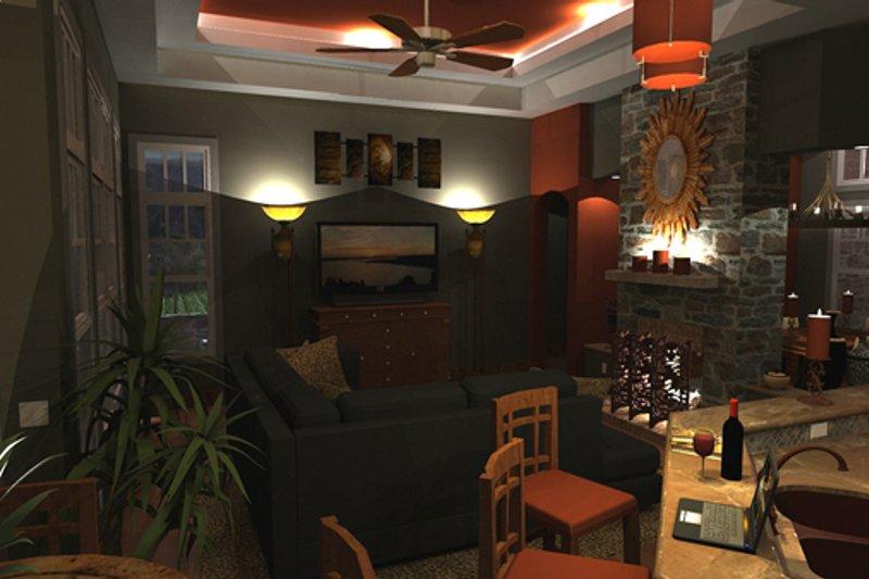 Craftsman Interior - Family Room Plan #120-162 - Houseplans.com