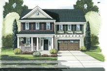 Architectural House Design - Traditional Exterior - Front Elevation Plan #46-811