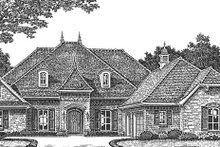 Country Exterior - Front Elevation Plan #310-1269