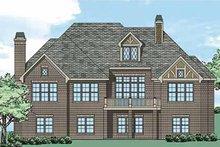 Tudor Exterior - Rear Elevation Plan #927-431