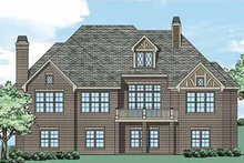 House Design - Tudor Exterior - Rear Elevation Plan #927-431