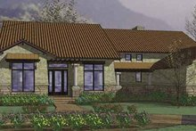 Mediterranean Exterior - Front Elevation Plan #120-217