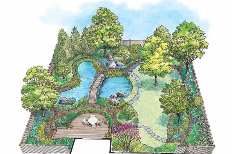 Exterior - Front Elevation Plan #1040-61 - Houseplans.com