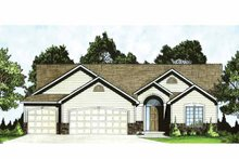 House Design - Traditional Exterior - Front Elevation Plan #58-233