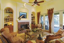 Architectural House Design - Ranch Interior - Family Room Plan #930-232