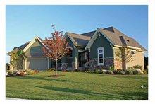 House Plan Design - European Exterior - Front Elevation Plan #51-1071