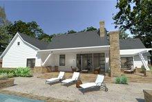 House Plan Design - Farmhouse Exterior - Rear Elevation Plan #120-253