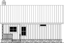 House Design - Country Exterior - Rear Elevation Plan #21-464