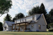 Dream House Plan - Farmhouse Exterior - Other Elevation Plan #923-173