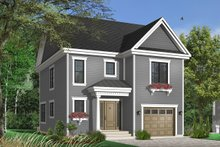 Traditional Exterior - Front Elevation Plan #23-671