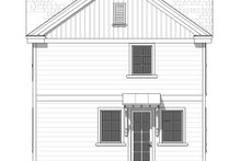 Architectural House Design - Farmhouse Exterior - Rear Elevation Plan #901-136