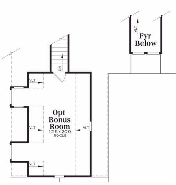 Traditional Floor Plan - Other Floor Plan Plan #419-164