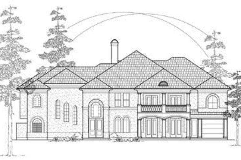 European Exterior - Front Elevation Plan #61-160 - Houseplans.com