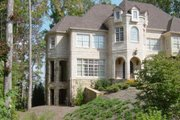European Style House Plan - 5 Beds 4 Baths 3698 Sq/Ft Plan #119-204 Exterior - Other Elevation