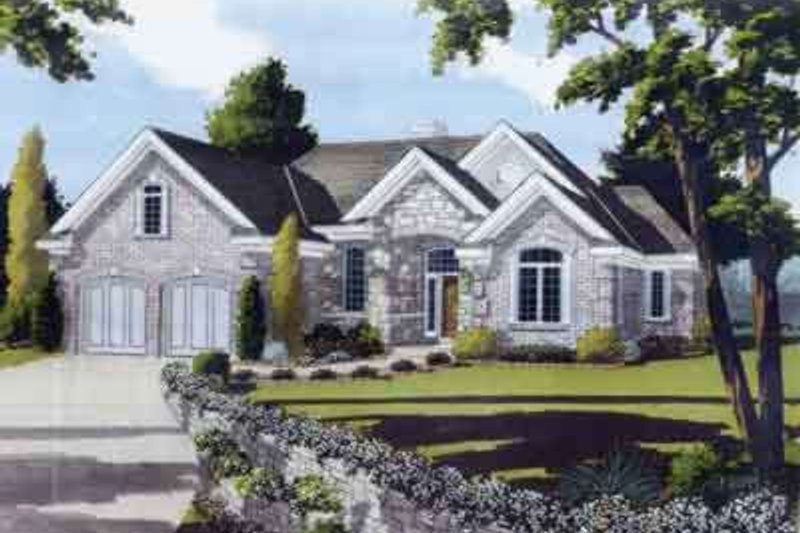 Southern Exterior - Front Elevation Plan #46-118 - Houseplans.com