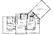 Craftsman Style House Plan - 3 Beds 2 Baths 2208 Sq/Ft Plan #117-880 Floor Plan - Main Floor Plan