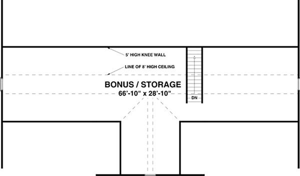 Ranch Floor Plan - Other Floor Plan #56-622