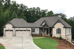 Craftsman Exterior - Front Elevation Plan #437-76