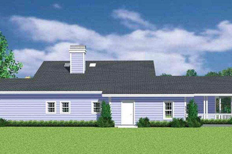 Craftsman Exterior - Other Elevation Plan #72-1137 - Houseplans.com