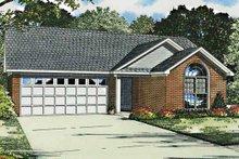 House Plan Design - Ranch Exterior - Front Elevation Plan #17-2796