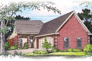 House Design - Traditional Exterior - Front Elevation Plan #15-298