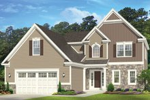 Traditional Exterior - Front Elevation Plan #1010-149
