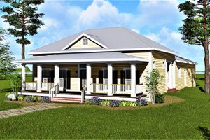 Traditional Exterior - Front Elevation Plan #44-193
