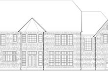 Home Plan - European Exterior - Rear Elevation Plan #48-617