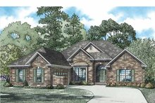 Ranch Exterior - Front Elevation Plan #17-2800