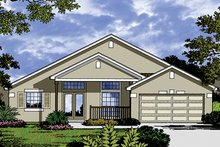 House Plan Design - Traditional Exterior - Front Elevation Plan #417-842