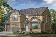 House Plan Design - Craftsman Exterior - Front Elevation Plan #132-290