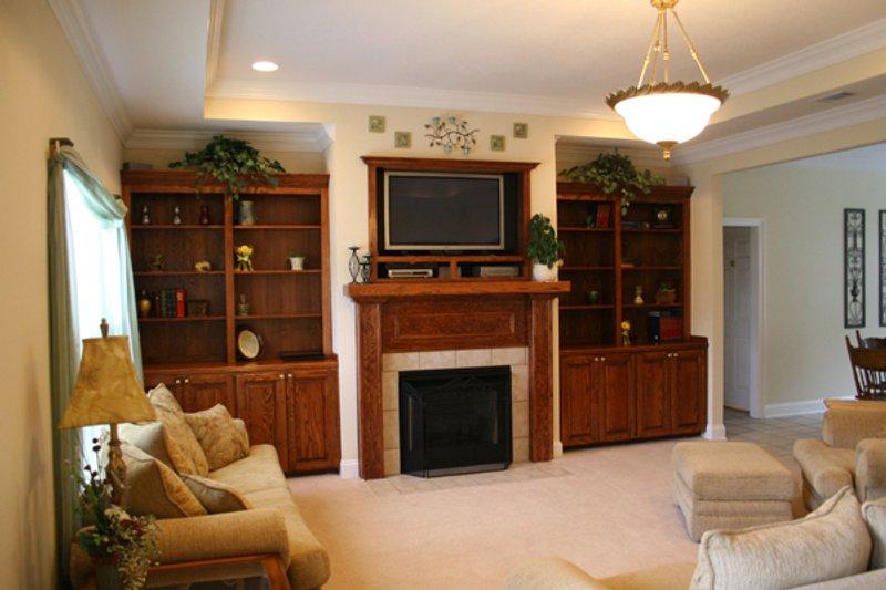 Traditional Interior - Family Room Plan #21-139 - Houseplans.com