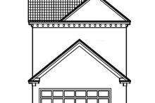 House Plan Design - Mediterranean Exterior - Rear Elevation Plan #1047-35