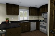 Traditional Style House Plan - 3 Beds 2.5 Baths 1621 Sq/Ft Plan #1060-4 Interior - Kitchen