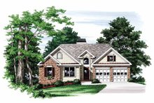 House Plan Design - Ranch Exterior - Front Elevation Plan #927-733