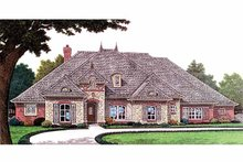 House Plan Design - Country Exterior - Front Elevation Plan #310-1236